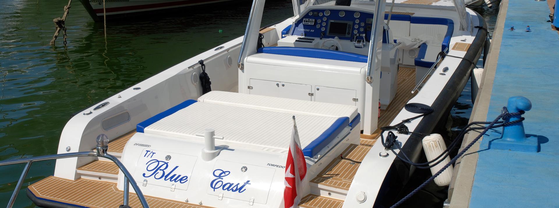 Torpedo: allestimenti imbarcazioni
